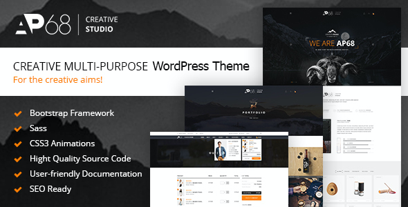 test AP68 - Creative Multi-Purpose WordPress Theme