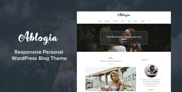test Ablogia - Responsive WordPress Blog Theme