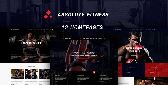 Test du thème WordPress Absolute Fitness , découvrez notre avis