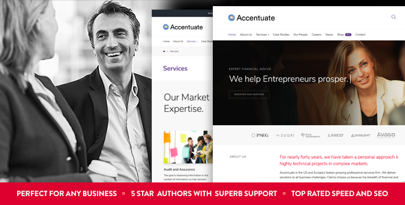 test Accentuate - A Professional Consulting WordPress Theme