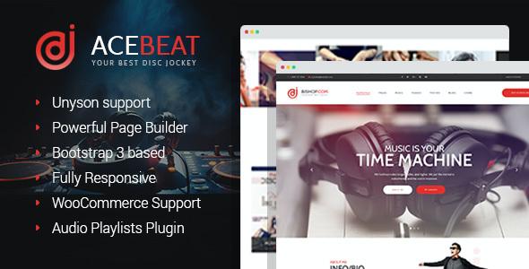 Test du thème WordPress AceBeat , voici notre avis
