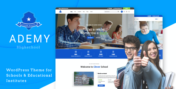 test Ademy - WordPress Theme for Schools & Educational Institutes