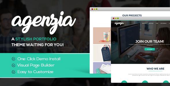 Test du thème WordPress Agenzia , découvrez notre avis