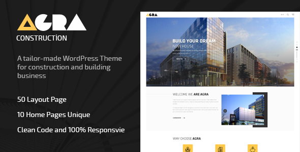 test Agra | Construction Business WordPress Theme