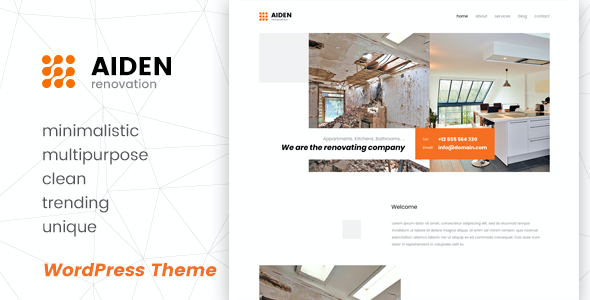 test Aiden - Minimalistic Multipurpose WordPress Theme
