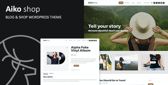 test Aiko - Blog & Shop WordPress Theme