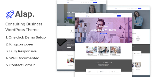 test Alap – Consulting and Business WordPress Theme