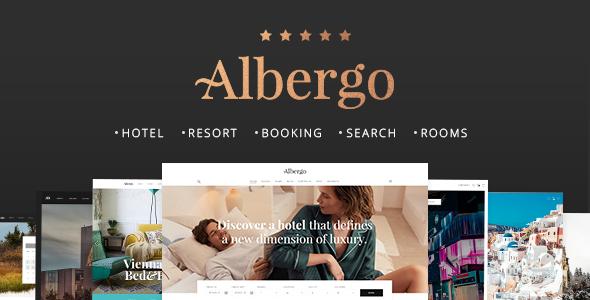 Test du thème WordPress Albergo , voici notre avis