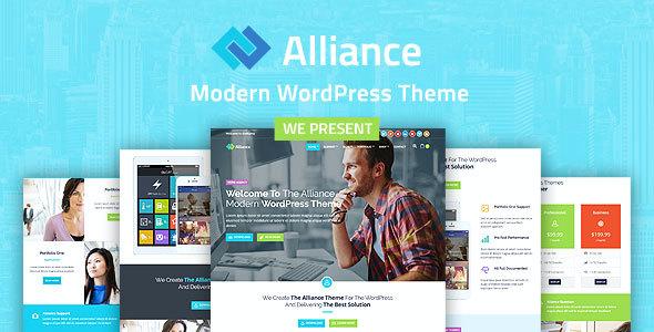 Test du thème WordPress Alliance , voici notre avis