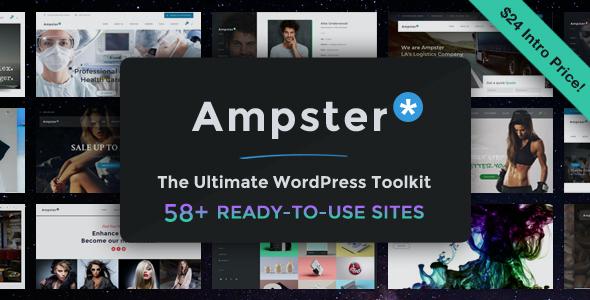Test du thème WordPress Ampster , voici notre avis