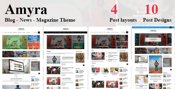 test Amyra - Clean WordPress Blog/News/Magazine Theme