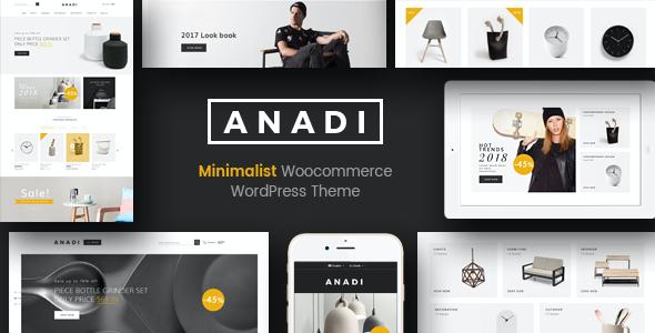 Test du thème WordPress Anadi , découvrez notre avis