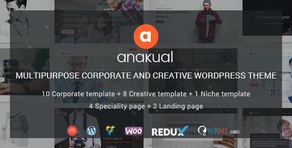 Test du thème WordPress Anakual , voici notre avis
