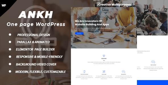 Test du thème WordPress Ankh , voici notre avis