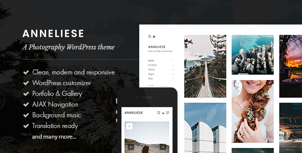 test Anneliese - A Photography WordPress Theme