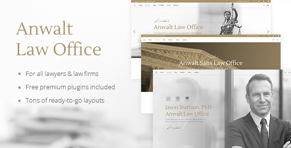 test Anwalt - A Lawyer and Law Office Theme