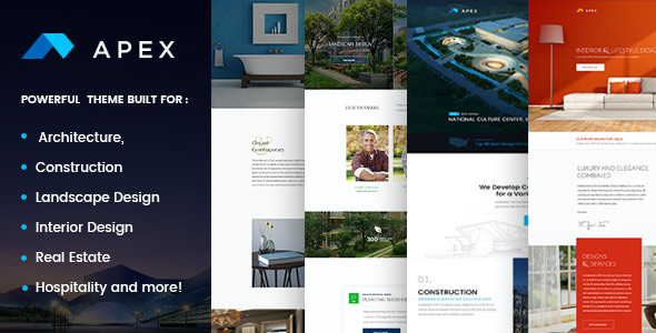 test Apex - Construction, Builders, Designers & Architects WordPress Theme