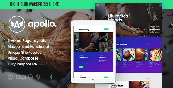test Apollo | Night Club & Event WP Theme