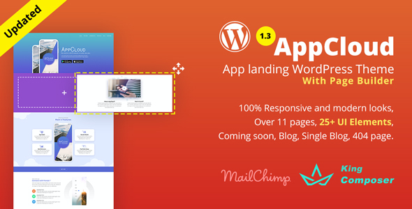 Test du thème WordPress AppCloud , voici notre avis