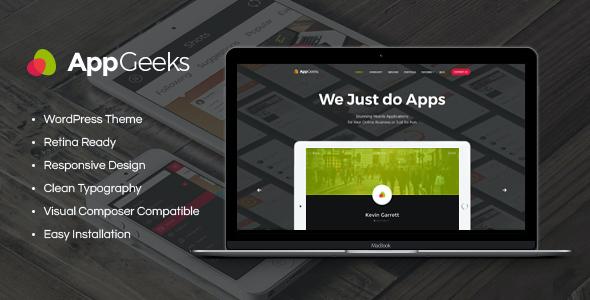Test du thème WordPress AppGeeks , voici notre avis