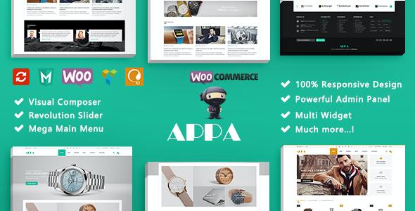 Test du thème WordPress Appa , découvrez notre avis