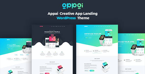 test Appai App Landing WordPress Theme