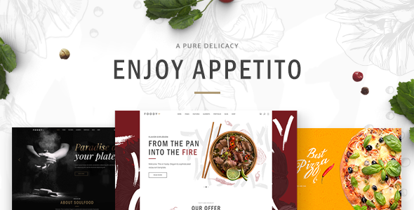 test Appetito - A Modern Theme for Restaurants and Cafés