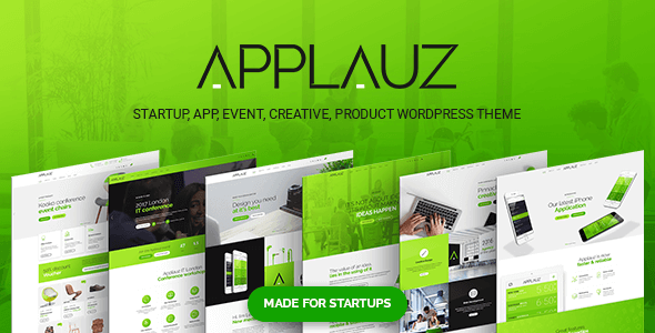 test Applauz - Startup, App and Digital Business WordPress Theme