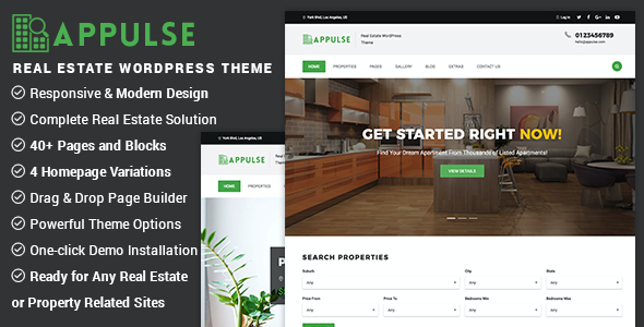 test Appulse - Real Estate WordPress Theme