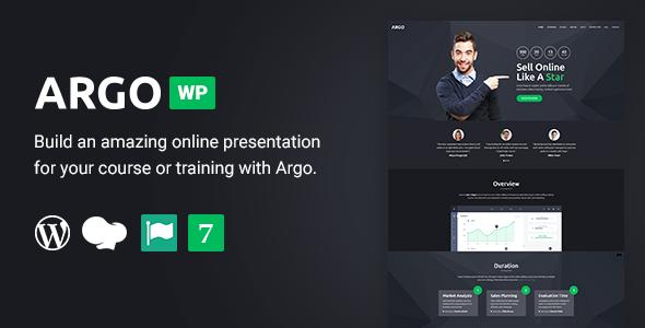 Test du thème WordPress Argo , voici notre avis