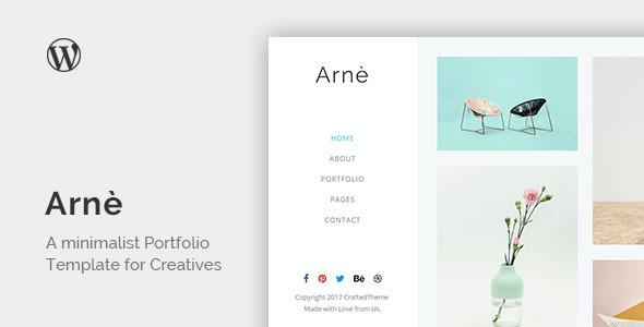 Test du thème WordPress Arne , voici notre avis
