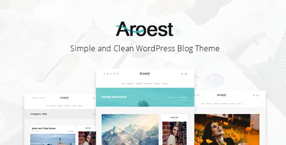 Test du thème WordPress Aroest , découvrez notre avis