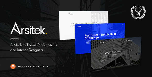test Arsitek | A Modern Theme for Architects and Interior Designers