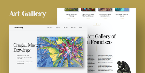 test Arte | Art Gallery WordPress Theme