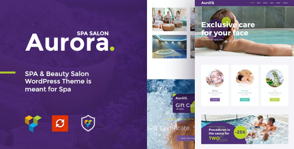 test Aurora Spa & Beauty Salon WordPress Theme