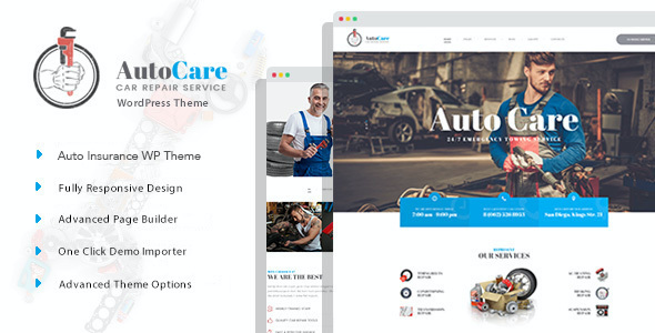 Test du thème WordPress AutoCare , voici notre avis
