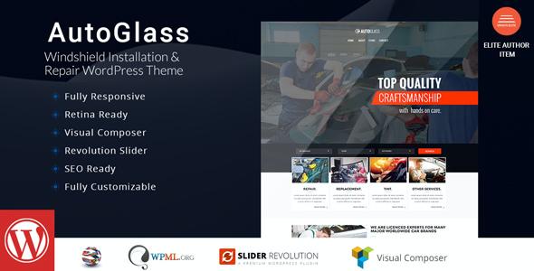Test du thème WordPress AutoGlass , découvrez notre avis