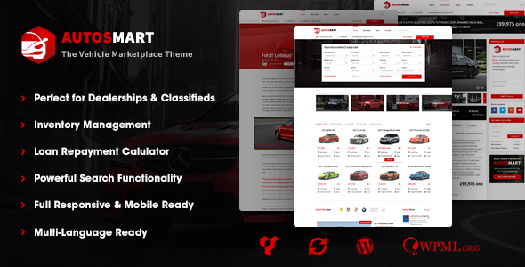 test AutosMart - Automotive Car Dealer WordPress Theme
