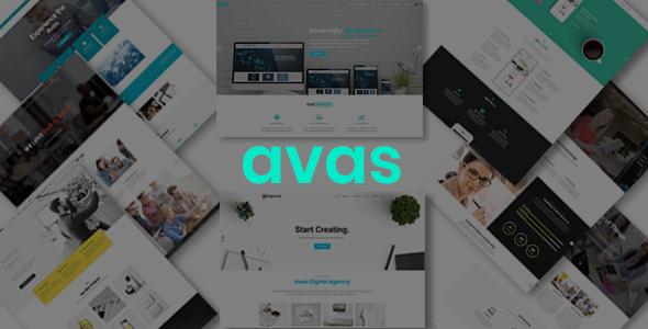 Test du thème WordPress Avas , voici notre avis