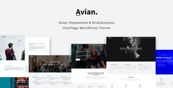 Test du thème WordPress Avian , découvrez notre avis