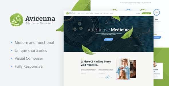 Test du thème WordPress Avicenna , voici notre avis