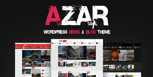 test Azar - WordPress News & Blog Theme