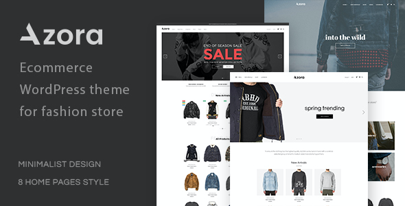 test Azora - Multipurpose WooCommerce Theme