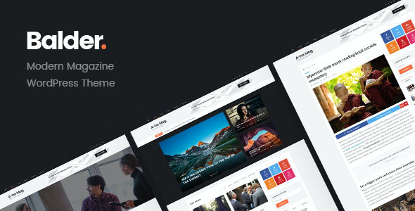 test Balder - Modern Magazine WordPress Theme