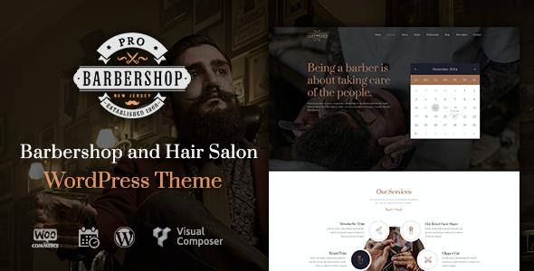 Test du thème WordPress Barbershop Pro , voici notre avis