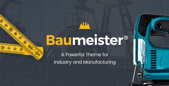 Test du thème WordPress Baumeister , découvrez notre avis