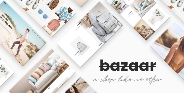 test Bazaar - A Modern, Sharp eCommerce Theme