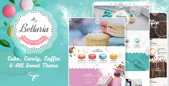 test Bellaria - a Delicious Cakes and Bakery WordPress Theme