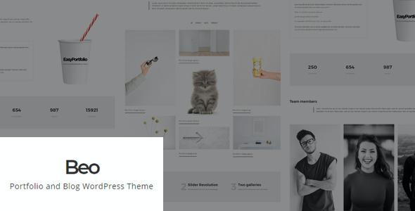 Test du thème WordPress Beo , découvrez notre avis