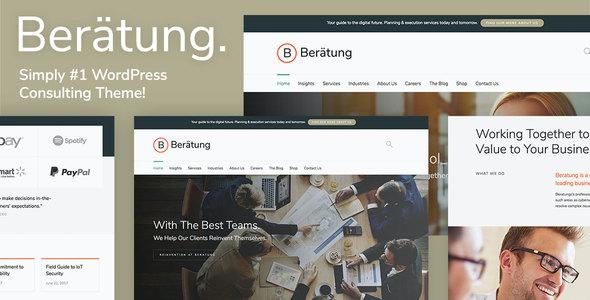Test du thème WordPress Beratung , découvrez notre avis